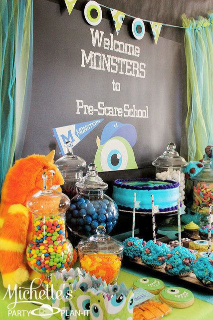 """Photo 1 of 59: monsters university / Back to School """"Monsters University Pre-Scare School"""" 