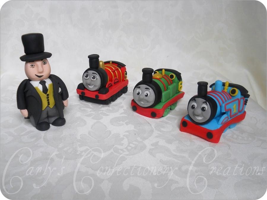 Thomas Train Cake Topper Traffic Club