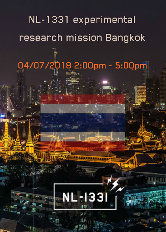 NL-1331 experimental research mission Bangkok