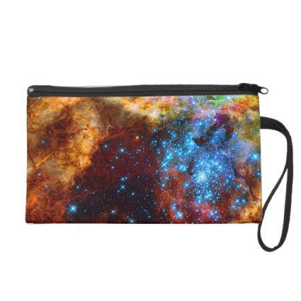Stellar Nursery R136 in the Tarantula Nebula Wristlet Purse