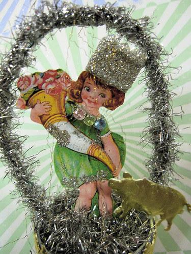 Dresden Bell Boat Ornaments! 12