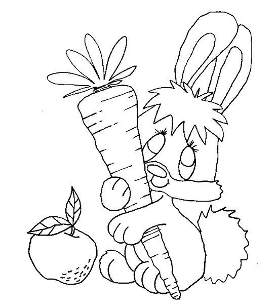 Mewarnai Kelinci Gif Gambar Animasi Animasi Bergerak 100