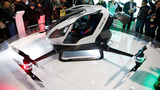 World's 1st passenger drone coming to skies near you