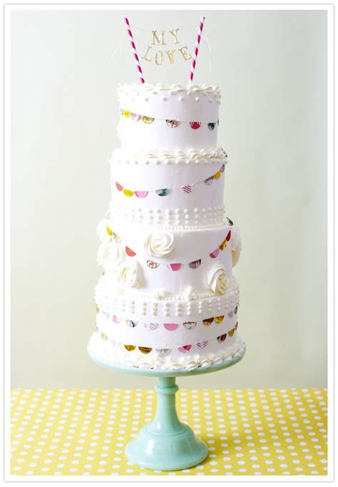 Crafty cake toppers   Wedding Inspiration   100 Layer Cake