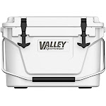Valley Sportsman 2a-cm185w Biaxial Roto Molded Cooler, White