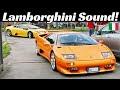 Lamborghini meeting - Mille Miglia 2010
