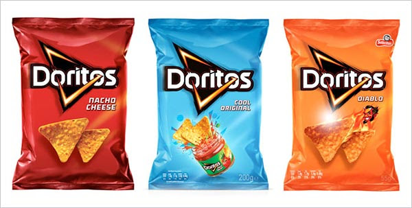 Doritos Packaging design ideas1 30+ Crispy Potato Chips Packaging Design Ideas