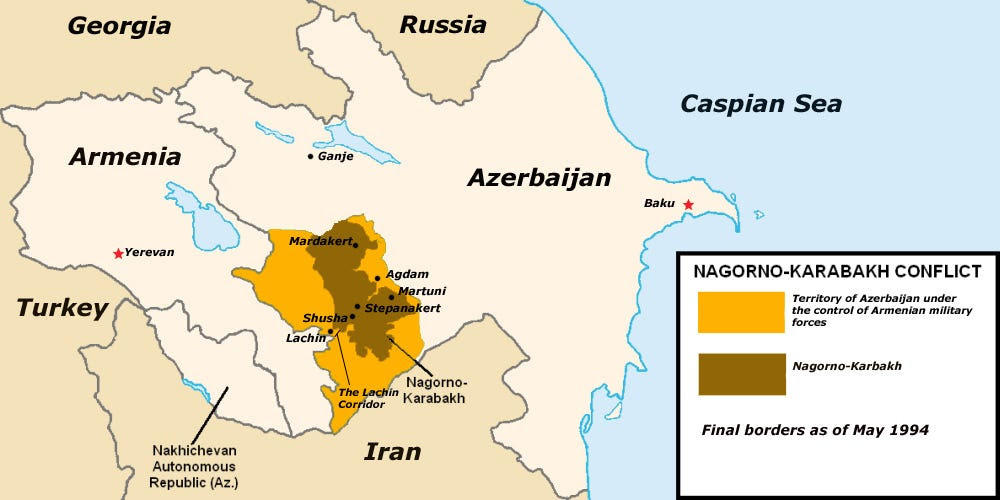 Nagorno Karabakh_Occupation_Map