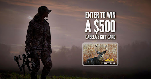 Enter the Cabelas Sweepstakes Sweepstakes | CarbonTV