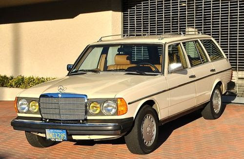Purchase used 1985 Mercedes 300TD turbo diesel wagon only ...