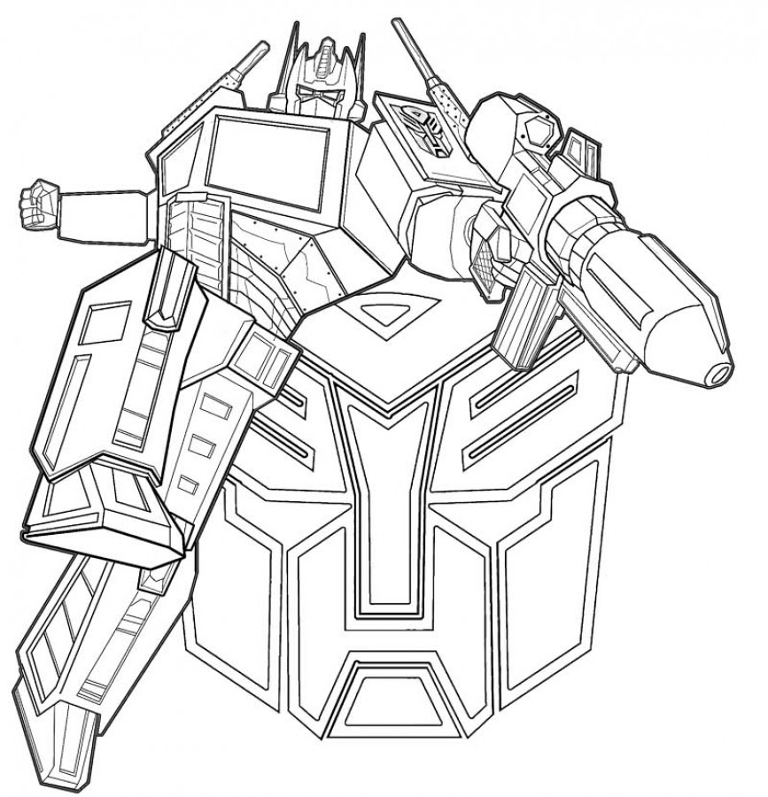 Optimus Prime Face Drawing At Getdrawingscom Free For Personal