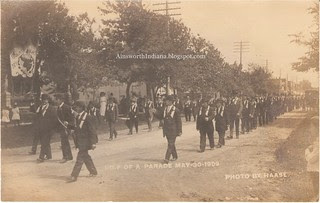 1909 Foresters parade