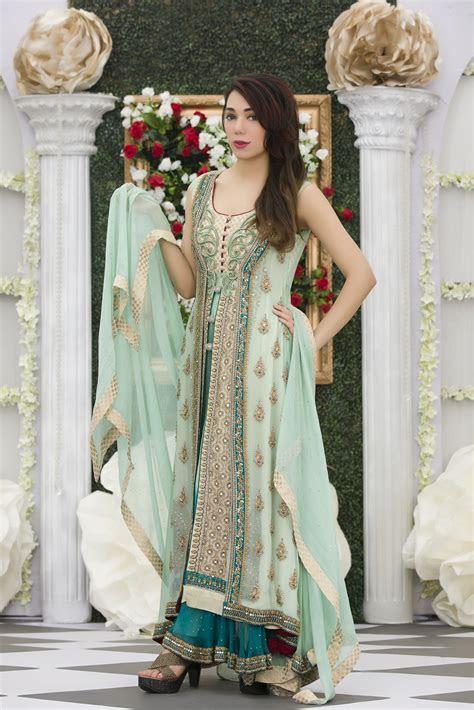 EXCLUSIVE AQUA GREEN COLOR BRIDAL DRESS   Exclusive Online
