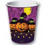 Pumpkin Paper Cups - Halloween Party Supplies