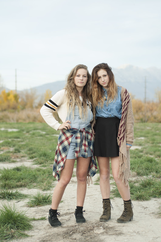 Mckenna and Abbie on how they influence each other's style