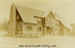 Mt Hood History Battle Axe Inn Government Camp Oregon