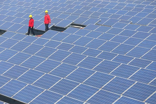 China's solar power capacity more than doubles in 2016