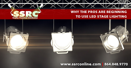 Why the Pros Are Beginning to Use LED Stage Lighting? – SSRC Online