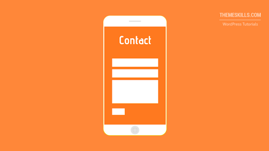 How to Make Contact Form 7 Full Width and Responsive - ThemeSkills