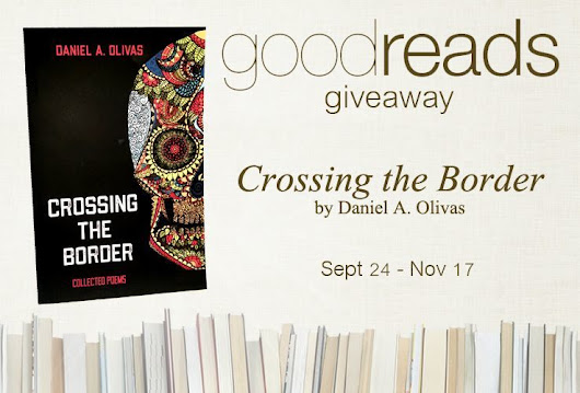 Crossing the Border Goodreads Giveaway