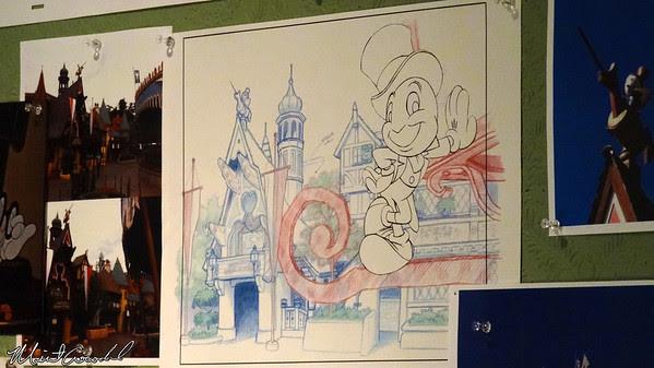 Disneyland Resort, Disneyland, Main Street U.S.A., Disneyana, Ink and Paint