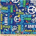 Bag It Peace Blue