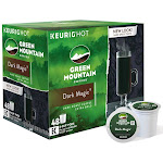 Green Mountain Coffee Dark Magic Keurig Single-Serve K-Cup Pods - 48 count