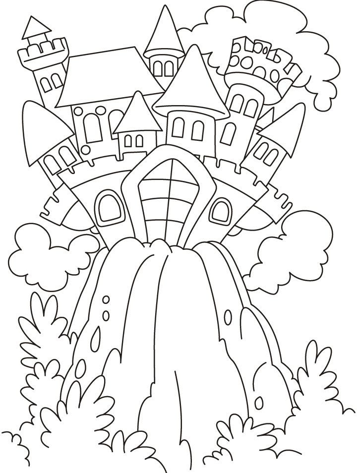 Fairy Tale Colouring Pages Printable - High Quality ...