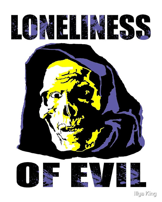 'The Loneliness of Evil ' by Illya King