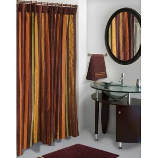 Stripe Shower Curtains   Overstock.com: Buy Shower Accessories Online