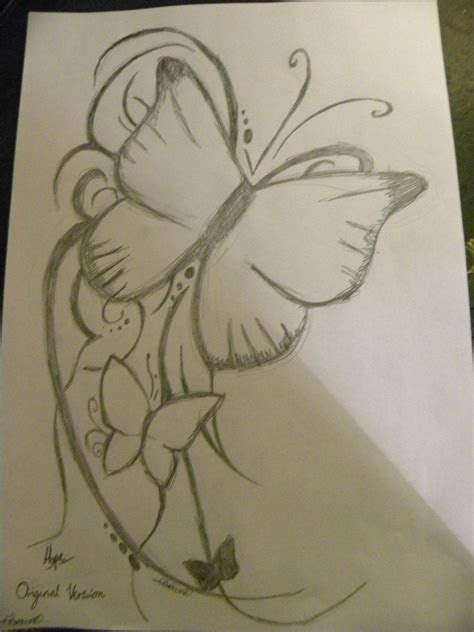tattoo pencil drawings tumblr butterfly tattoo pencil