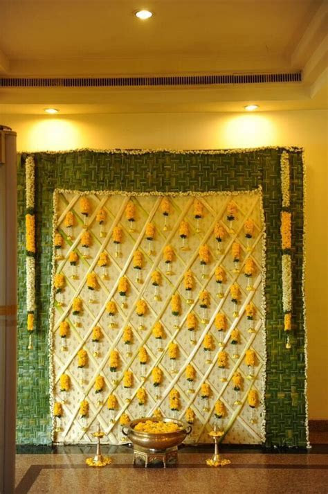 Pin by Madhu Chandra on Pooja decoration   Indian wedding