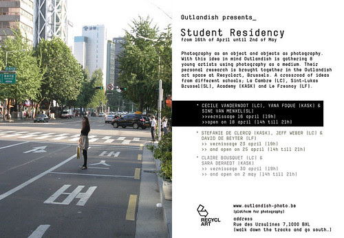Outlandish presents Student Residency