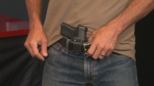 Staging Your Concealed Carry Firearm