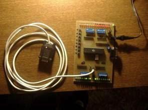 AVR Ban phát triển thử nghiệm ATmega16