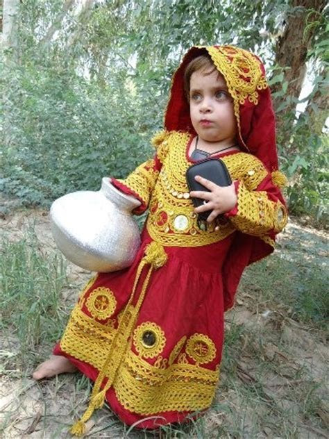 Traditional dress of Kalash #Pakistan.. Cute little girl