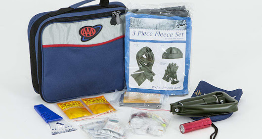 Be Prepared With a Winter Car Emergency Kit
