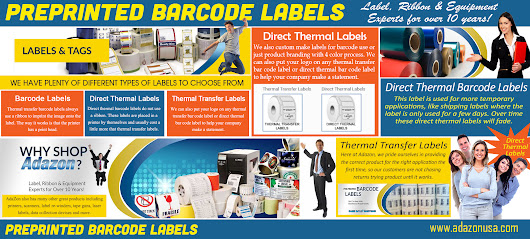 Custom Barcode Labels At Adazon