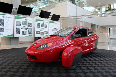Elio Motors Unveils P5 Prototype at the Los Angeles Auto Show -- LOS ANGELES, Nov. 19, 2015 /PRNewswire/ --