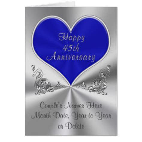 45th Wedding Anniversary Cards & Invitations   Zazzle.co.uk