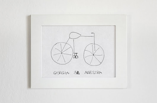 Bicycles Built Based on People's Attempts to Draw Them From Memory