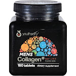 Youtheory Mens Collagen Advanced, Tablets - 160 count
