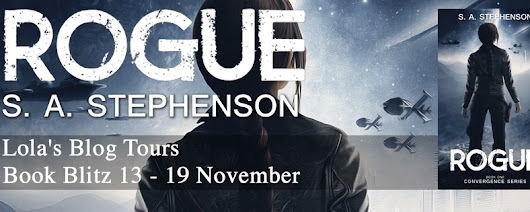 Guest Post ~ Rogue by SA Stephenson... #ScienceFiction #books