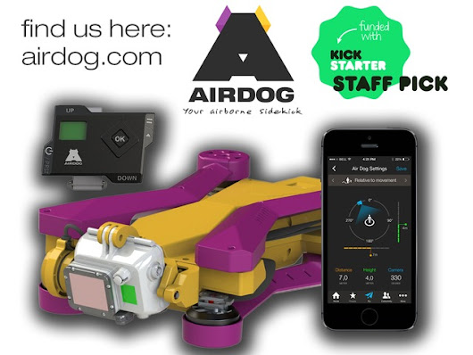 AirDog: World's First Auto-follow Action Sports Drone