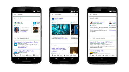 Google Search Results Have a Whole New Look Now That Tweets Have Arrived