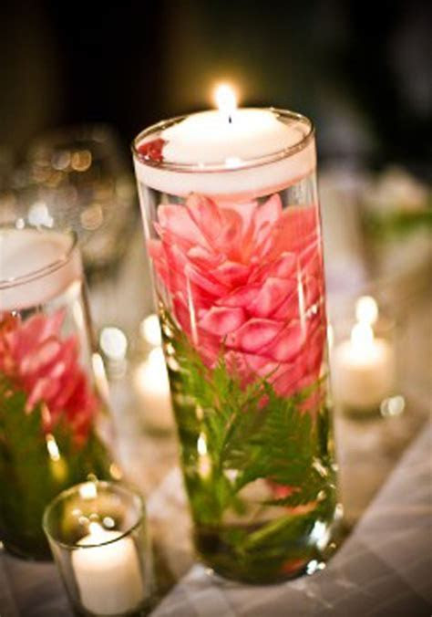 Pink Ginger Centerpieces BEAUTIFUL!   Wedding