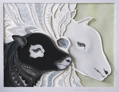 paper-cutting-hog-and-ewe