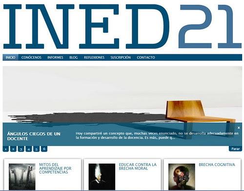 INED21, web de debate sobre innovación educativa