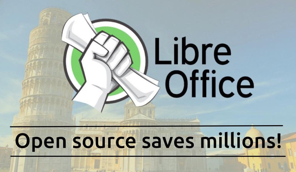 libreoffice saves millions italy