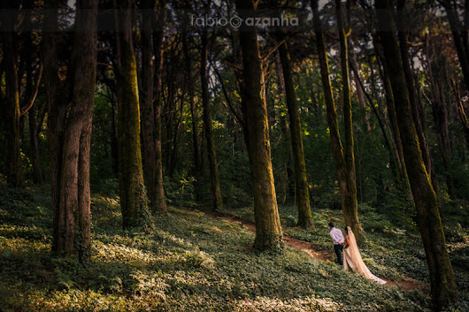 Sintra Mountains Wedding Portraits